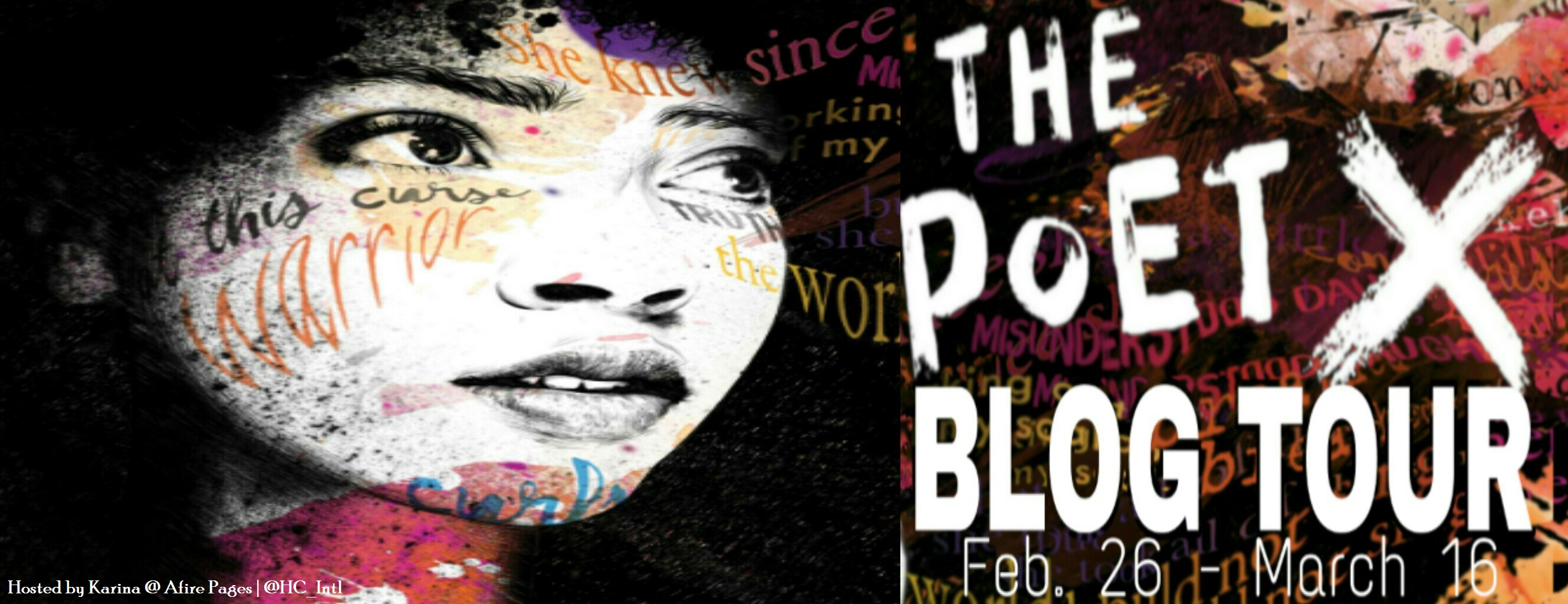 The Poet X by Elizabeth Acevedo blog tour